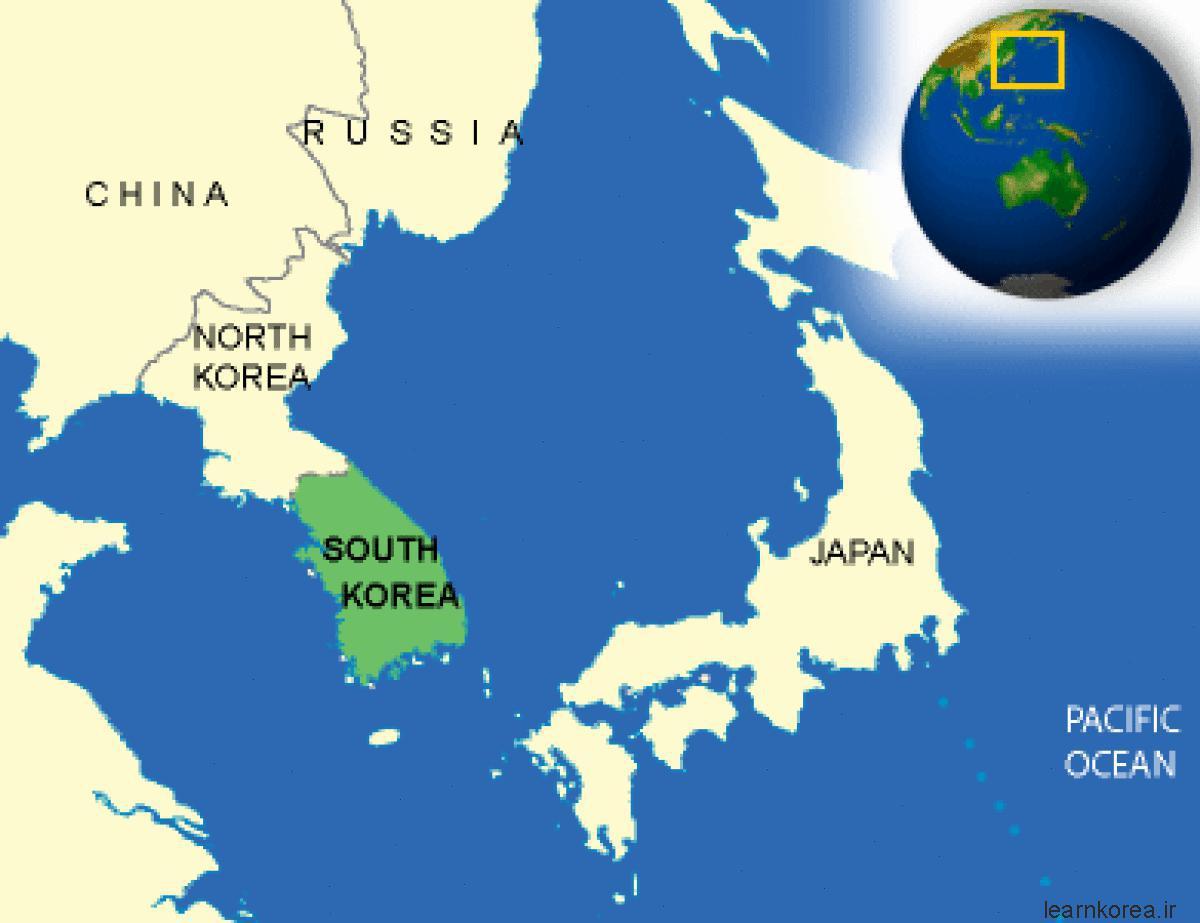 جغرافیای کره جنوبی