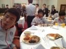 مهمانی سفارت کره جنوبی همراه تبم ملی فوتبال کره_5