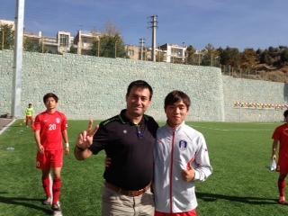 مترجم تیم قوتبال کره جنوبی_